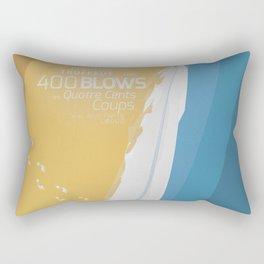 The 400 Blows, les Quatre cents coups, François Truffaut, minimalist movie poster, Jean-Pierre Léaud Rectangular Pillow