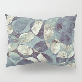 Background Metallic Ocean II Pillow Sham