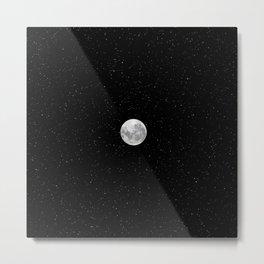 Strawberry Moon, the July moon Metal Print