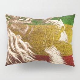 Rasta Art, Rasta Tapestry, Rastafarian, Rasta Gift, Rasta Lion, Rasta Wall Art, Pillow Sham