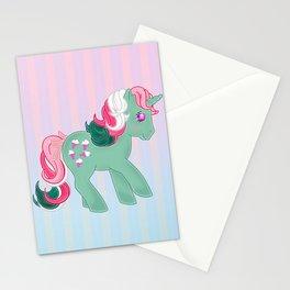 g1 my little pony stylized Fizzy Stationery Cards