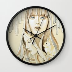 A Familiar Journey Wall Clock