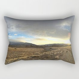 Land and Sky Rectangular Pillow