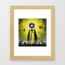 Utkin - Steel God Creation Framed Art Print