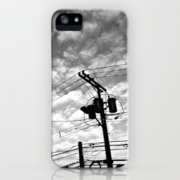 Against the backdrop of history iPhone Case