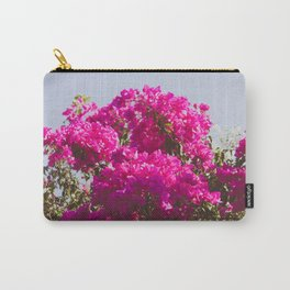 Pink Flowers in Bloom Carry-All Pouch