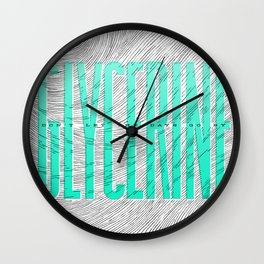 Glycerine Wall Clock