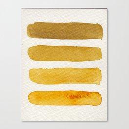 Autumn Stripe Canvas Print