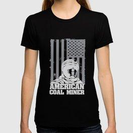 American Coal Miner, Patriotic Coal Miner T-shirt