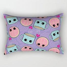 Concha Y Cafecito Rectangular Pillow