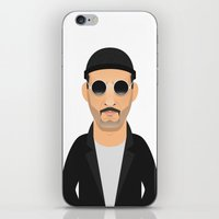 leon iPhone & iPod Skins featuring Leon by Capitoni