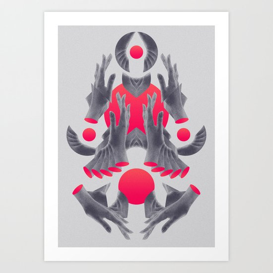Hands of Ro 03 Art Print
