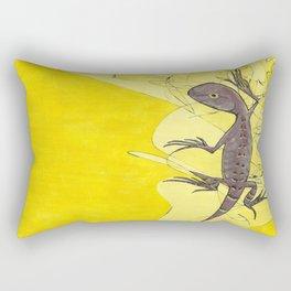 Frank the Lizard Rectangular Pillow
