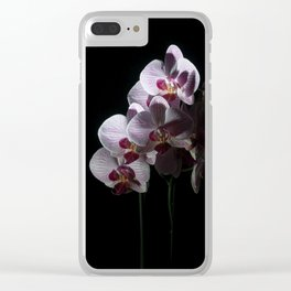 Orchidee 1 Clear iPhone Case