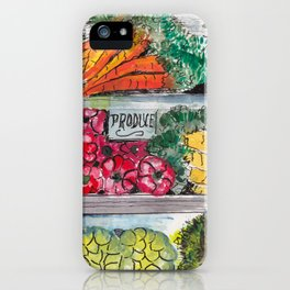 Eat your vegetables! iPhone Case
