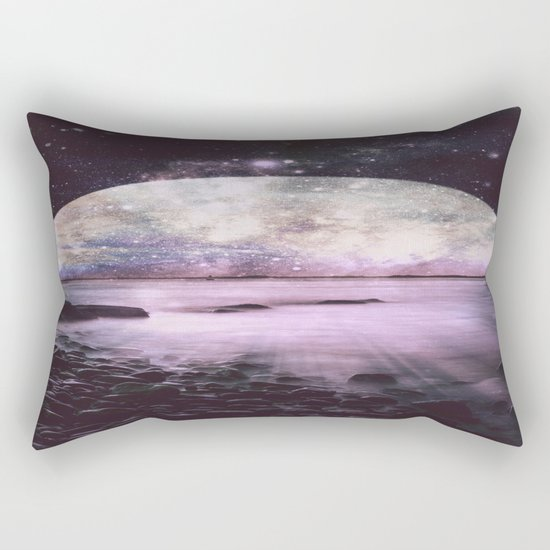 Mystic Lake Lavender Rectangular Pillow