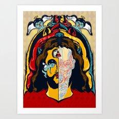 Anatomy of Jesus Art Print