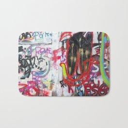 Colorful Graffiti Bath Mat