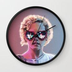 Electrick Girl Wall Clock
