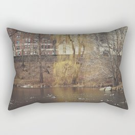 Central Park North Rectangular Pillow
