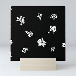 Capo Blanco - Black Mini Art Print