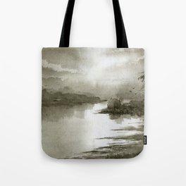 A Splash of Sepia Tote Bag