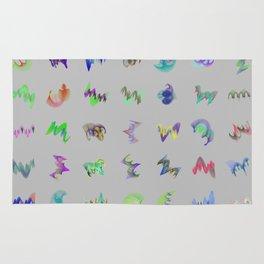 Orbital Crystals 7x7 Array #2 Astronomy Print Wall Art Rug
