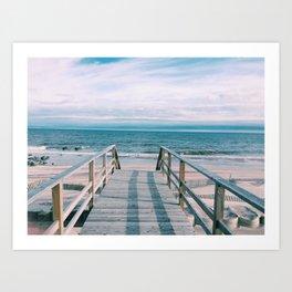 OCEAN BEACH | FIRE ISLAND | NEW YORK Art Print