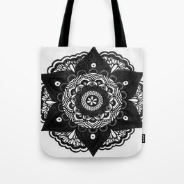 Flower Mandala Number 2 Tote Bag