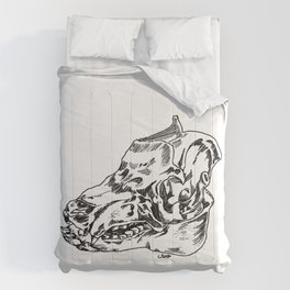 Pig Skull Comforters