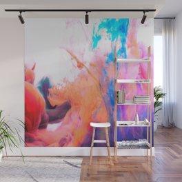 smokey paint splash Wall Mural