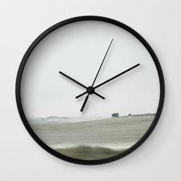 green nowhere Wall Clock