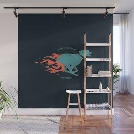 Hot dog Wall Mural
