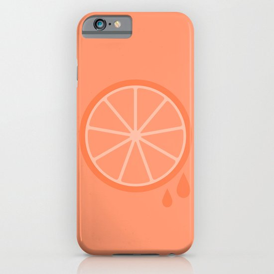 #51 Orange iPhone & iPod Case