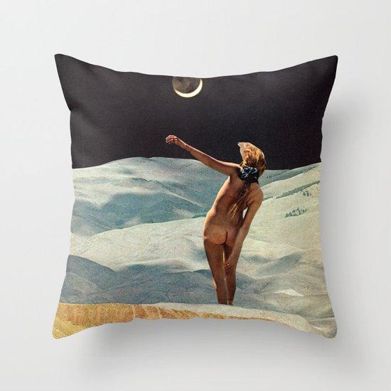 CRESCENT Throw Pillow