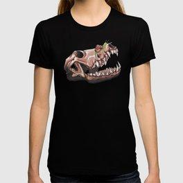 Coyote Skull Plus Snail Trail T-shirt