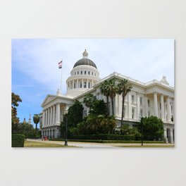 California State Capitol Canvas Print