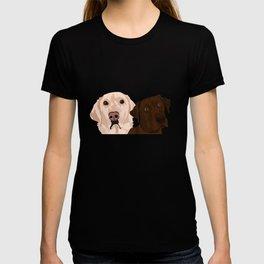 2 Labradors T-shirt