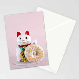 Maneki Donut Stationery Cards