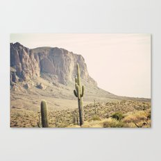 Superstitious Mountain Canvas Print