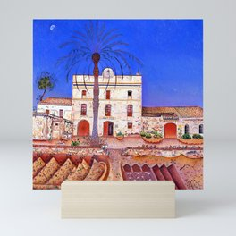 Joan Miro House with Palm Tree Mini Art Print