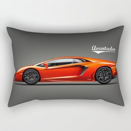 The Aventador Supercar Rectangular Pillow