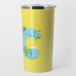 letter C Travel Mug