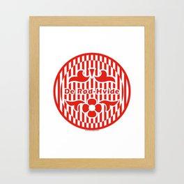Denmark De Rød-Hvide (The Red-White) ~Group C~ Framed Art Print