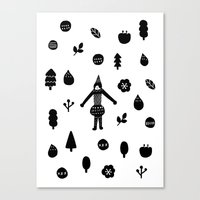 Little Forest  Canvas Print