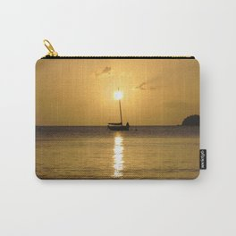 Watercolor People in Nature, NSS, Sailboat 07, St John, USVI Carry-All Pouch