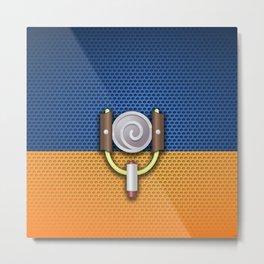 symbol uzumaki  Metal Print