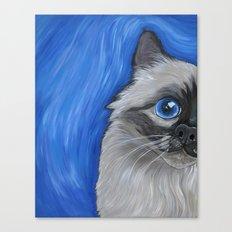 Birman Cat Canvas Print