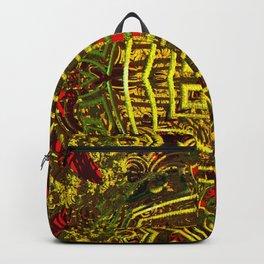 3D mandala Backpack