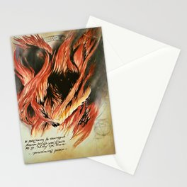Shadow and Flame Stationery Cards